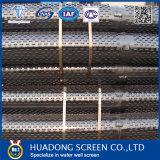 Poço de água da tela do entalhe da ponte/da tela aço de carbono/aço inoxidável - filtro da tela/poço de petróleo