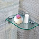 4mm 5mm 6mm 8mm normales ausgeglichenes Glas für Dusche-Wand-Regal