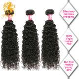 Волосы девственницы бразильских человеческих волос девственницы Kinky курчавые