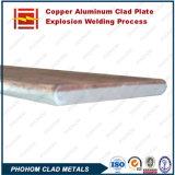 Placa de revestimento de alumínio com cobre de explosão