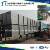 fábrica de tratamento residencial da água de esgoto 200tons/Day, taxa rápida da remoção de BOD, bacalhau, Ss