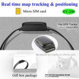2G/GSM Venta caliente Pet Tracker GPS con el collarín (EV-200).