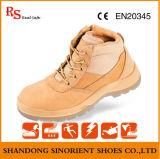 Ботинок безопасности Nubuck лодыжки кожаный с Ce и сертификатом Rh116 ISO