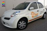 Стикер автомобиля PVC с печатание полного цвета изготовленный на заказ