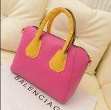handbag 사탕 색깔 PU 숙녀 어깨에 매는 가방 끈달린 가방 핸드백