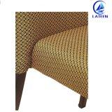 Fabricação de mobiliário de estilo novo restaurante de metal como madeira Cadeira de jantar