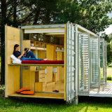 Camera prefabbricata del contenitore, villa prefabbricata del contenitore
