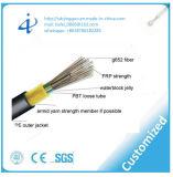 Câble fibre optique aérien en gros GYFTY de gaine de PE d'Alibaba avec le faisceau 96