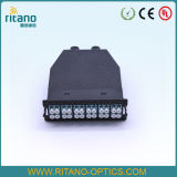 カセット光ファイバパッチコードInstallatedのためのMTP/MPO-LC/Sc/FC端子盤