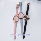 OEM Custom Mesdames montres quartz wist, Lady Watch (WY-17036C)
