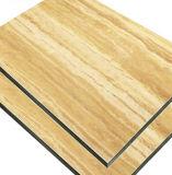 PVDF impermeable Panel Compuesto de aluminio pintado de Revestimiento de pared exterior