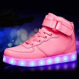Luz del LED para la luz de destello del partido de los zapatos ocasionales para los zapatos de los deportes