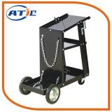 携帯用金属の溶接工のカート押し手トラックの便利な荷物のトロリー