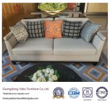 Upholsteryed Hotel-Möbel mit Sofa des Gewebe-drei (YB-O-63)