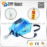 Новый тип портативный блок 220V/50Hz 300kg миниый тракции веревочки провода электрический