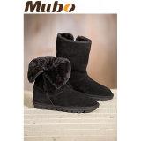 Зимние мужские велюр повседневная обувь Sheepskin загружается