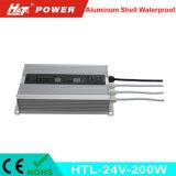 24V 8A impermeabilizzano l'alimentazione elettrica del LED con le Htl-Serie di RoHS del Ce