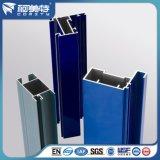 Polvere personalizzata della fabbrica che ricopre l'espulsione di alluminio di colore blu per costruzione