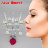 Aqua depósito dérmico secreta para injeção de ácido hialurônico nádegas