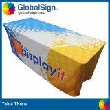 Реклама выставки печатной полиэфирная ткань в таблице с малым проекционным расстоянием тканью