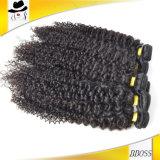 よい市場のブラジルのねじれた巻き毛のRemyの毛の拡張