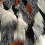Jacquardwebstuhl-langer Stapelfaux-Pelz für Kissen, Kleid, Beutel