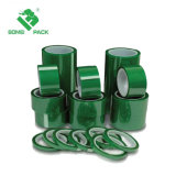 Hochtemperatursilikon-Leiterplatte-Grün-Haustier-anhaftendes hitzebeständiges Band