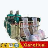 Roulis de double de sachet en plastique de sacs à main d'achats faisant le prix de machine