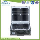 Sistema de energia solar portátil do uso da casa