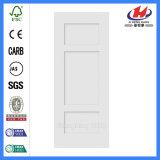 L'extérieur lisse en bois aggloméré apprêt Core plus blanches porte (JHK-SK03-1)