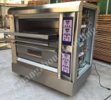 Equipamentos de cozedura luxuoso Deck de gases estufa para vendas saudável-204dB)