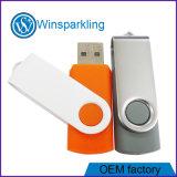 Disco de memoria Flash del USB del USB 3.0 del eslabón giratorio del metal