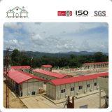 Casa prefabricada de un emparedado prefabricado ligero modular más barato de la estructura de acero de la fábrica para el dormitorio/la oficina