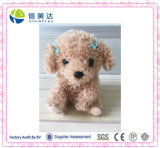 Mini Leuke Pluizige Bruin herhaalt Re⪞ Speelgoed van de Pluche van de Hond van Ord het Sprekende