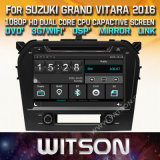 Tela de Toque do Windows Witson aluguer de DVD para Suzuki Grand Vitara 2016