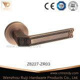 ローズの高品質(z6197-zr13)の水晶出入口のハードウェアのハンドル