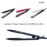 Le cheveu Straightner et utilisation de fer s'enroulant de plaques de bigoudi la double règlent le fer plat de cheveu de la température
