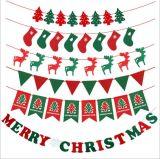 クリスマスの装飾のフェルトの布のハングのフラグ