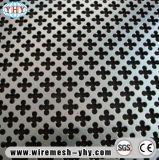 Lamina di metallo perforata di plastica galvanizzata decorativa
