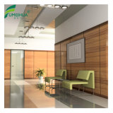 Resistente a UV de grãos de madeira decorativa Painel HPL revestimento de paredes