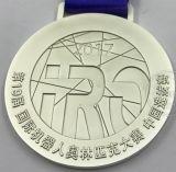 Il rame ha placcato medaglia del premio di sport di gioco del calcio di marchio di abitudine 3D dell'oro la doppia
