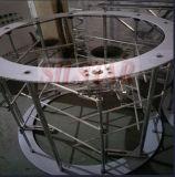 La película de plástico de doble tornillo máquina sopladora