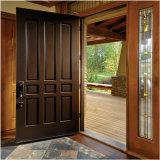 Porta de madeira composto de interiores de MDF