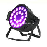 Для использования внутри помещений LED PAR 24*10W RGBW 4 в 1 LED PAR лампа