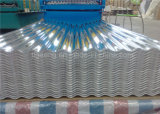 Плитка хорошего качества гофрированная/трапецоидальная гальванизированная стальная толя