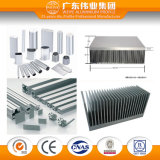L'aluminium industriel d'utilisation de fente de T a expulsé profil