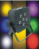 Effet de la lumière sans fil de la batterie DEL RGBW Slimpar du DJ de PARITÉ de liberté