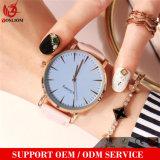 Madame chaude Fashion Quartz Watches de Waches de poignet d'homme de cuir véritable de la mode Yxl-582