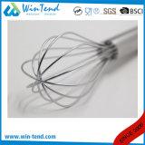 L'oeuf raide lourd commercial de cuisine de fil d'acier inoxydable battent avec le crochet