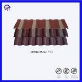 Красочные камня стружки металла с покрытием Milano миниатюры на крыше